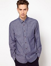 Camisa de cambray de Plectrum by Ben Sherman