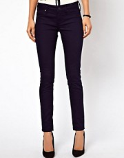 Mango Navy Skinny Jean