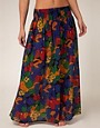 Image 4 ofFrench Connection Maxi Beach Skirt With Tropical Print