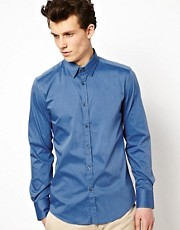 Camisa con cuello pequeo de Antony Morato