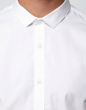 Image 3 ofASOS Smart Shirt With Cutaway Collar