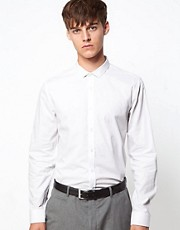 ASOS Smart Shirt With Cutaway Collar