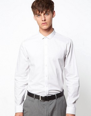 Image 1 ofASOS Smart Shirt With Cutaway Collar