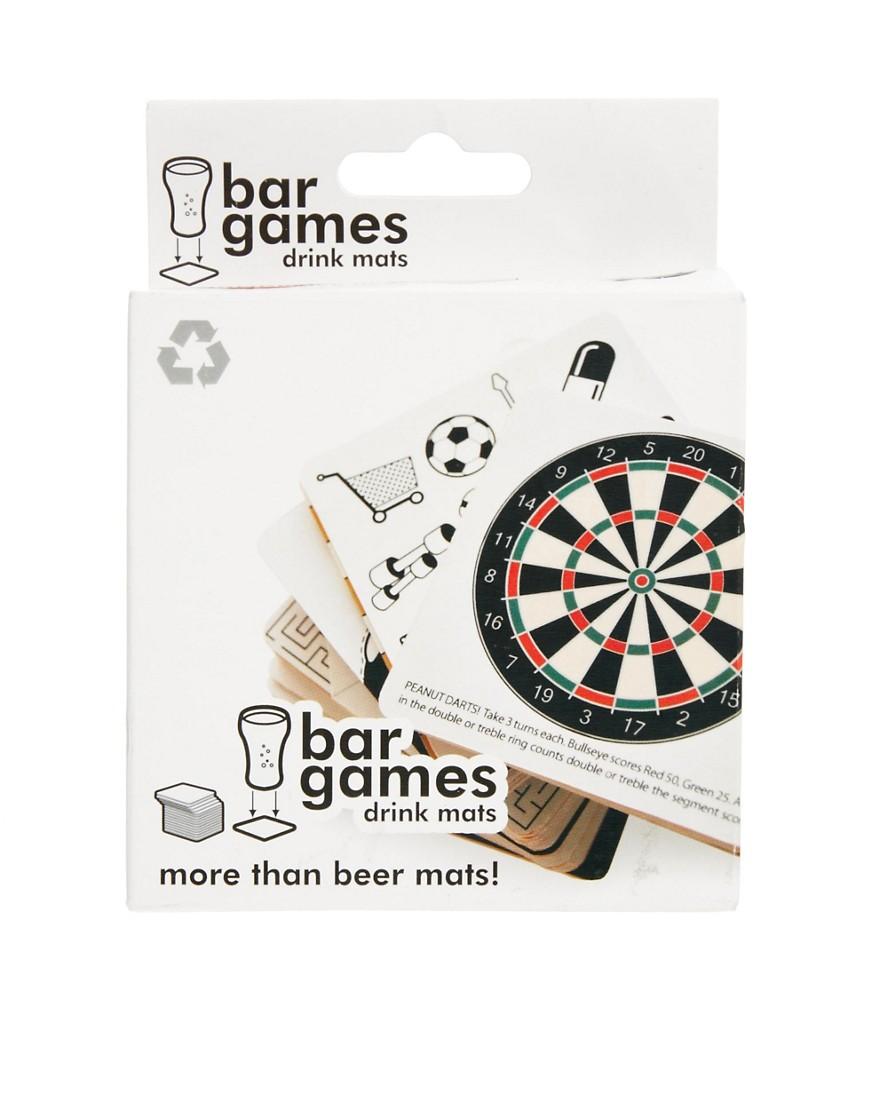 Image 1 ofBar Games Drinking Mats