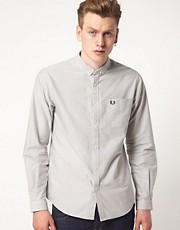 Camisa Oxford a rayas de corte slim de Fred Perry