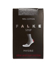 Falke Invisible Step Grey Socks