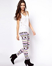 ASOS Leggings in Festival Aztec Print