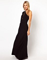 ASOS Maxi Dress With One Shoulder Detail