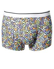ASOS Trunks With Pattern Print