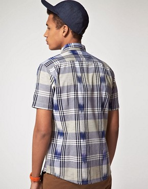 Image 2 of ASOS Short Sleeve Check Shirt