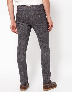 Image 2 ofASOS Skinny Chinos In Wool