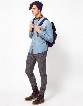 Image 4 ofASOS Skinny Chinos In Wool