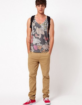 Image 4 ofASOS Vest With All Over Mickey Sublimation Print