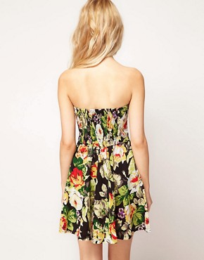 Image 2 ofMotel Floral Skater Dress
