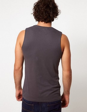 Image 2 ofASOS Sleeveless T-Shirt With New Jersey Print