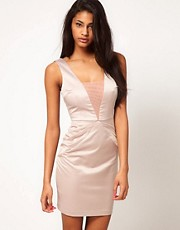 ASOS Occasion Dress with Pleat Detail