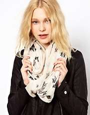 River Island Star Print Snood