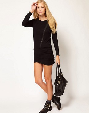 Image 4 ofVanessa Bruno Ath Biker Dress
