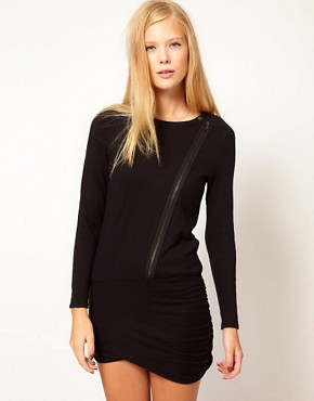 Image 1 ofVanessa Bruno Ath Biker Dress