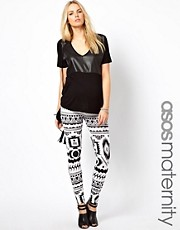 ASOS Maternity - Leggings stampati