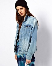 Just Female Oversized Denim Jacket