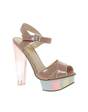 KG By Kurt Geiger Jem Cross Strap Sandals