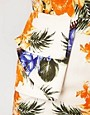 Image 3 ofRiver Island Floral Print Peplum Dress