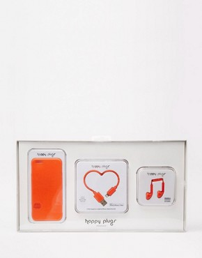 Happy Plugs - Valentines Red Bundle For iPhone 6