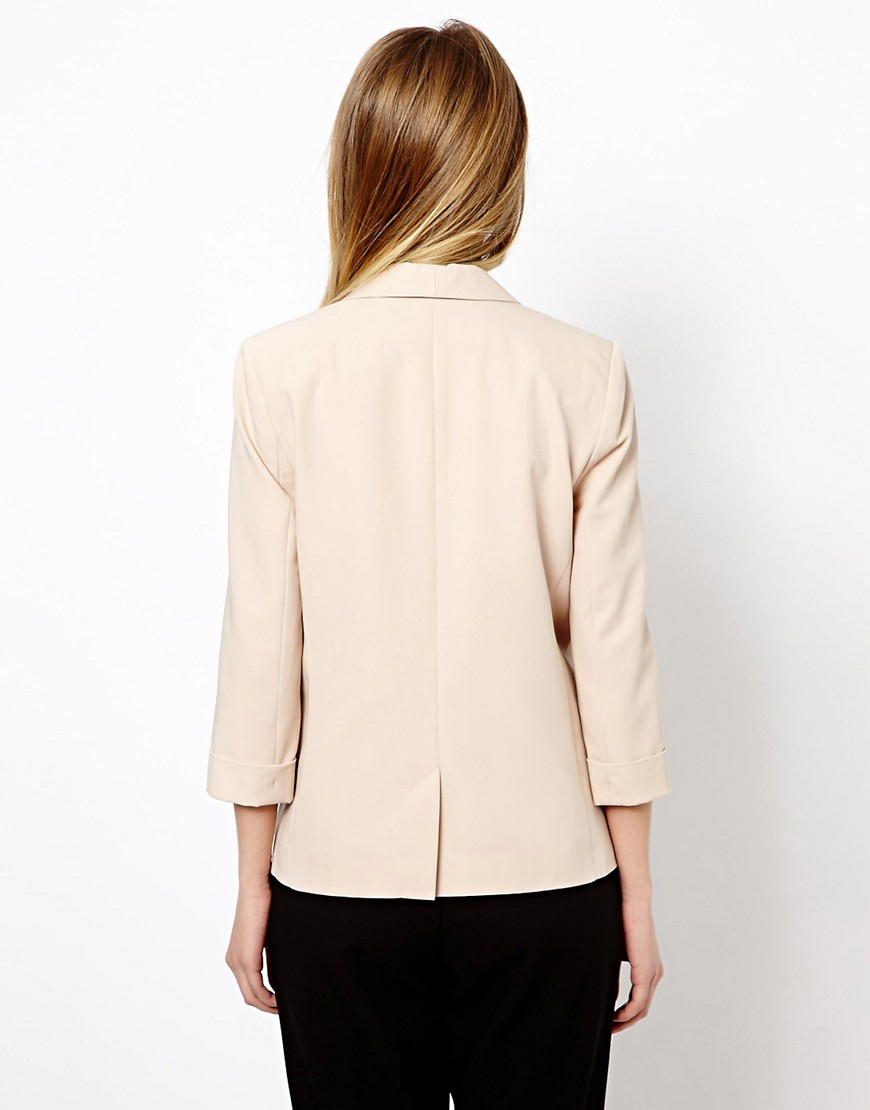 Image 2 ofASOS Longline Lapel Tailored Blazer