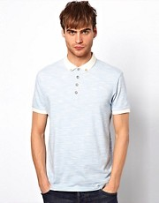 River Island Space Dye Polo Shirt