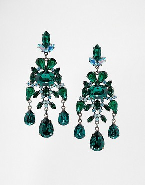 Krystal Swarovski Mega Drops Earrings