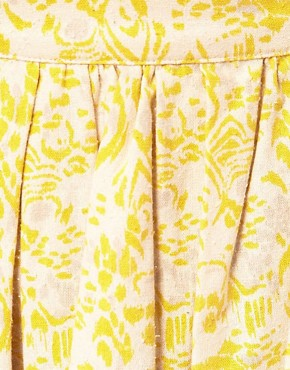 Image 3 ofVanessa Bruno Athe Ikat Print Skirt
