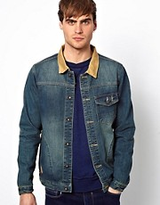 Native Youth Denim &amp; Canvas Jacket