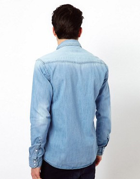 Image 2 ofJack &amp; Jones Western Denim Shirt