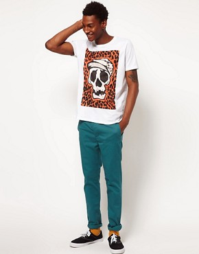 Image 4 ofASOS T-Shirt With Skull Print