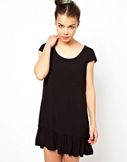 Splendid Ruffle Hem Shift Dress