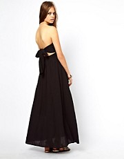ASOS Maxi Dress With Bow Back
