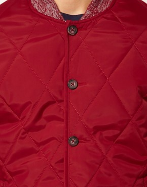 Image 3 ofASOS Jacket in Quilted Fabric