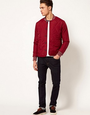 Image 4 ofASOS Jacket in Quilted Fabric