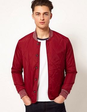 Image 1 ofASOS Jacket in Quilted Fabric
