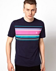 Original Penguin T-Shirt with Chest Stripe