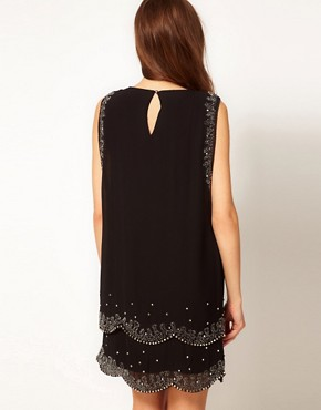 Image 2 ofTed Baker Embellished Flapper Dress
