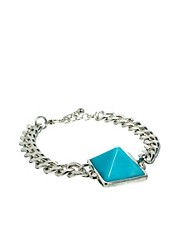ASOS Chain Link Pyramid Bracelet