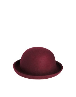 Image 2 ofASOS Roll Brim Felt Boater