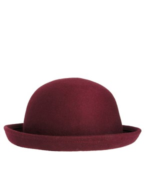 Image 4 ofASOS Roll Brim Felt Boater