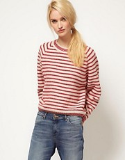 YMC Super B&#39;s Stripe Jumper