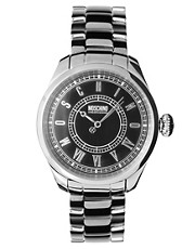 Moschino Stainless Steel Strap Watch MW0149