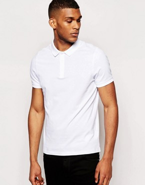 ASOS Polo Shirt In Jersey