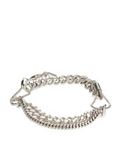 Pilgrim Chunky Chain Rope Link Bracelet