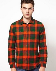 Lee Flannel Shirt With Check Print